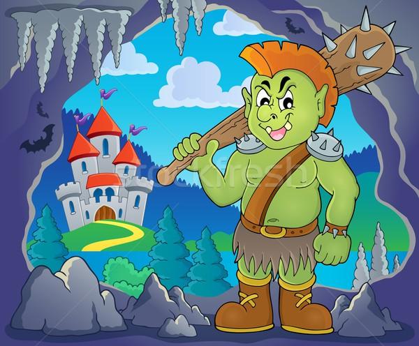 Orc theme image 2 Stock photo © clairev