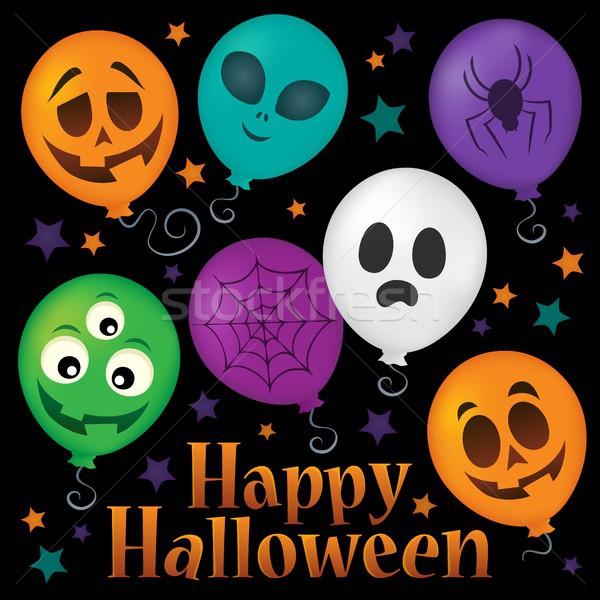 Happy Halloween sign thematic image 6 Stock photo © clairev