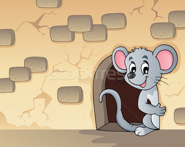 Mouse theme image 3 Stock photo © clairev