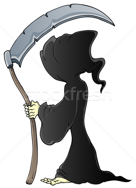 Grim reaper theme image 1 Stock photo © clairev
