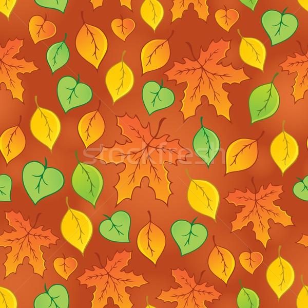 Leafy seamless background 3 Stock photo © clairev