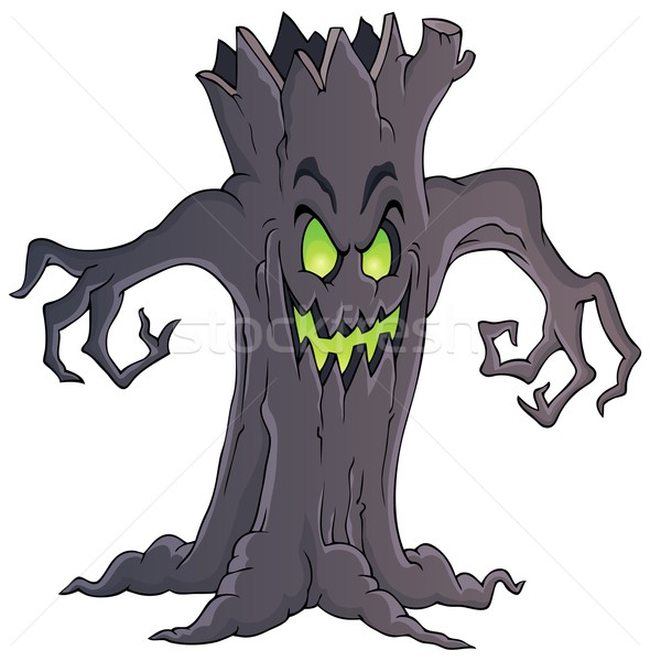 Spooky tree theme image 1 Stock photo © clairev