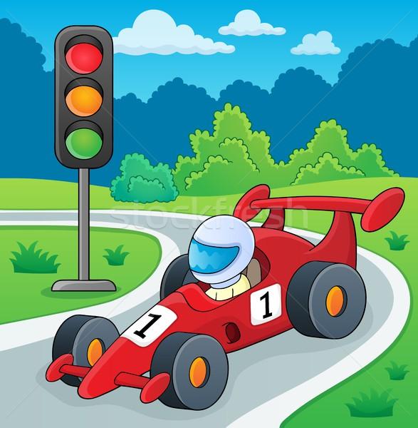 Racing car theme image 2 Stock photo © clairev