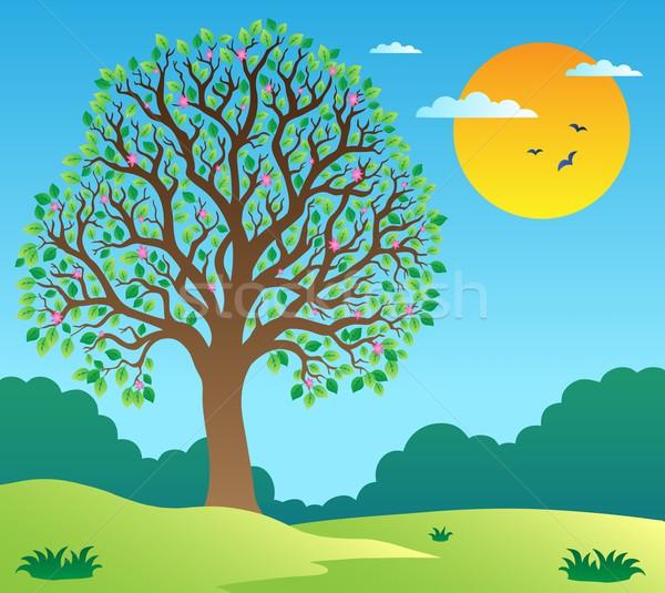 Рисунки раскидистого дерева