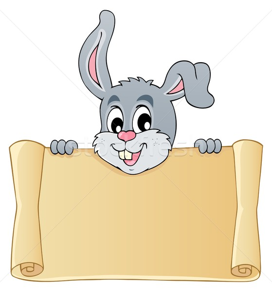 Image with rabbit theme 7 Stock photo © clairev