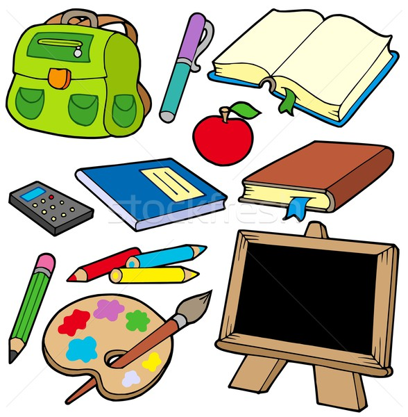 Back to school collection 1 Stock photo © clairev