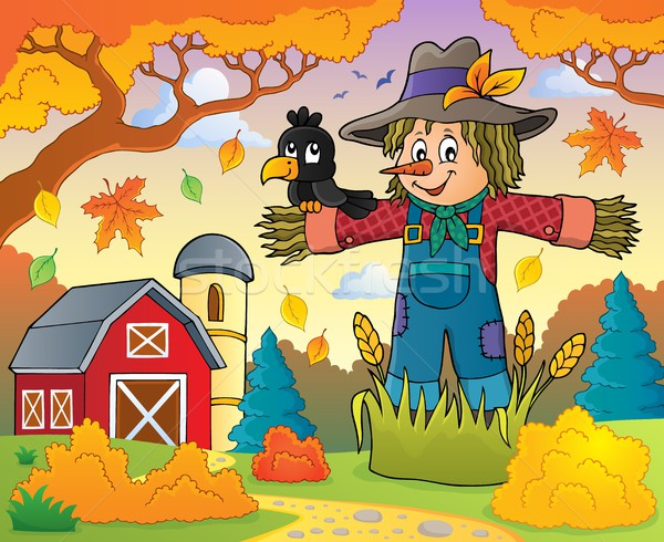 Scarecrow theme image 3 Stock photo © clairev