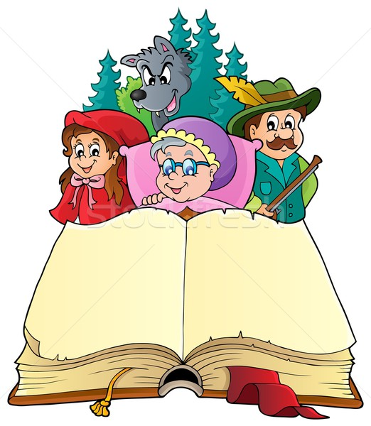 Fairy tale theme image 3 Stock photo © clairev
