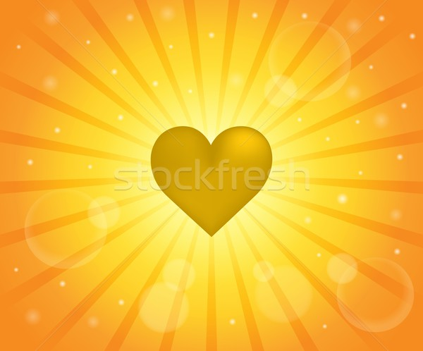 Abstract image with heart theme 7 Stock photo © clairev
