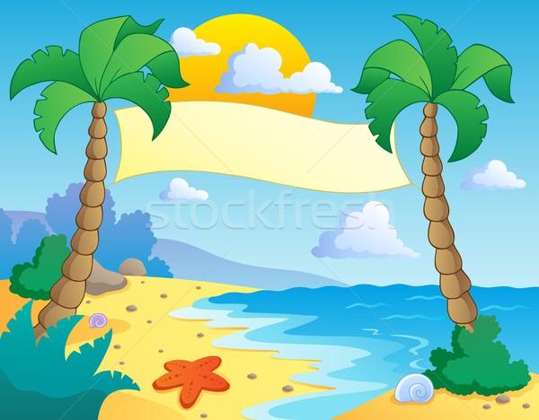 Stock photo: Beach theme scenery 4