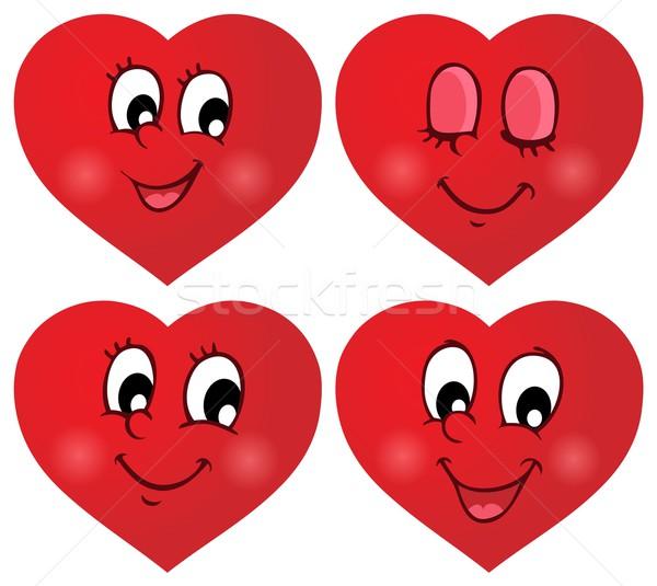 Valentine hearts thematic set 2 Stock photo © clairev