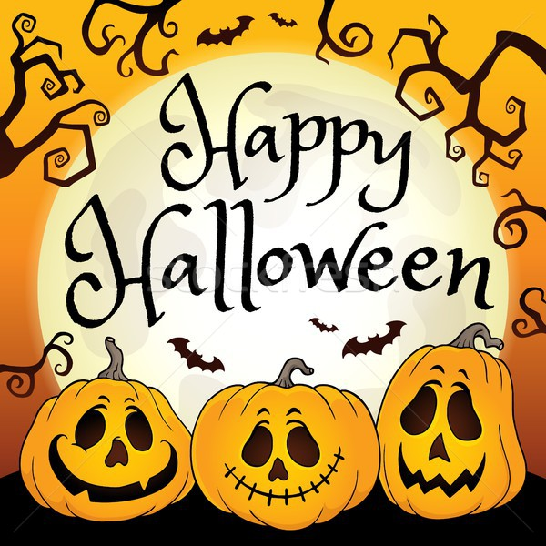 Happy Halloween composition image 2 Stock photo © clairev