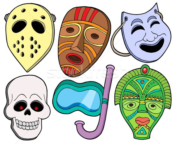 Various masks collection 1 Stock photo © clairev
