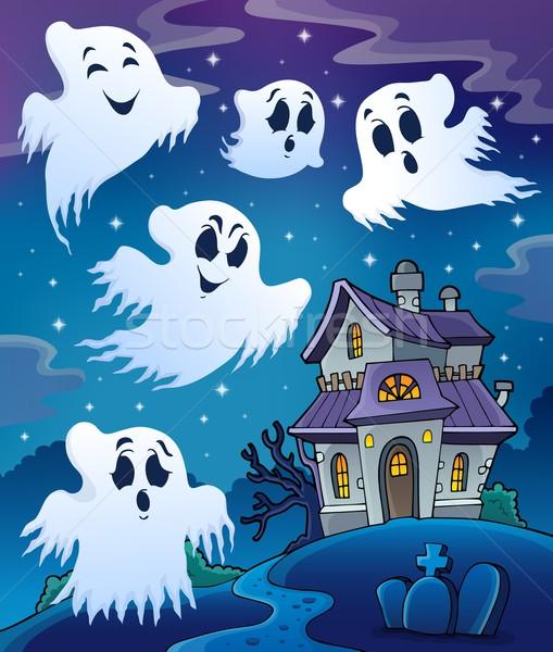 Haunted house theme image 7 Stock photo © clairev