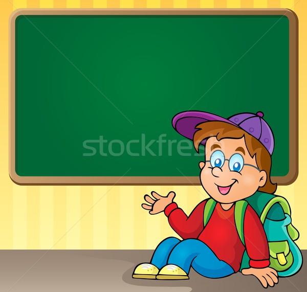 School thematic image 3 Stock photo © clairev