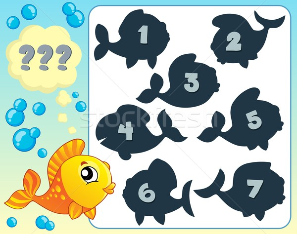 Fish riddle theme image 6 Stock photo © clairev