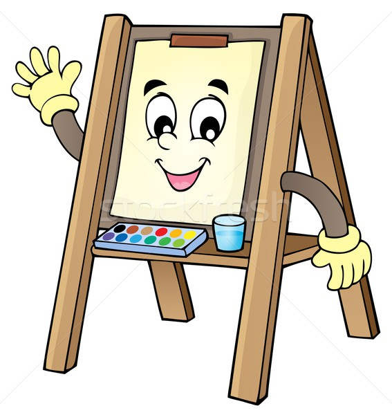 Easel theme image 1 Stock photo © clairev