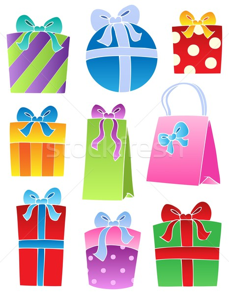 Various decorated gifts 2 Stock photo © clairev
