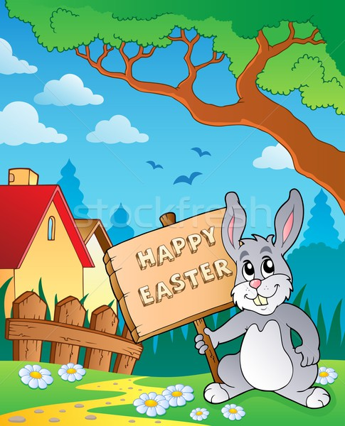 Easter bunny topic image 6 Stock photo © clairev