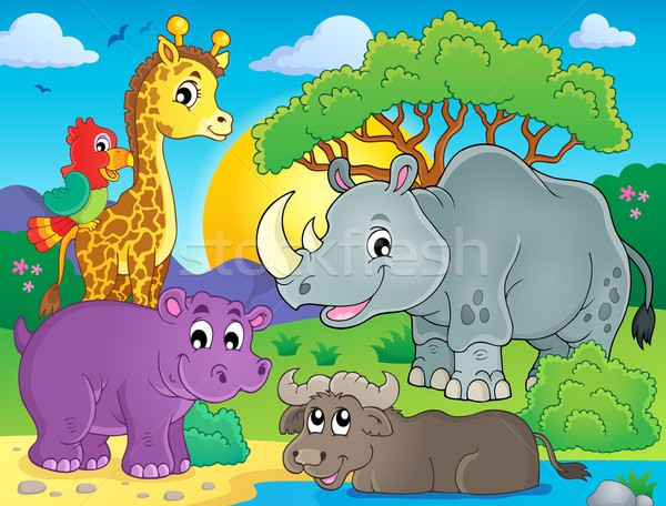 African fauna theme image 3 Stock photo © clairev