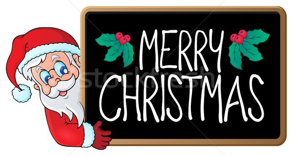 Merry Christmas subject image 2 Stock photo © clairev