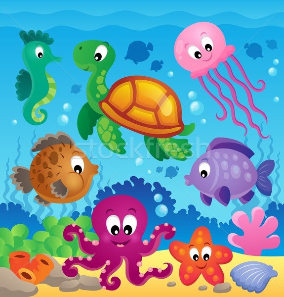 Image with undersea theme 7 Stock photo © clairev