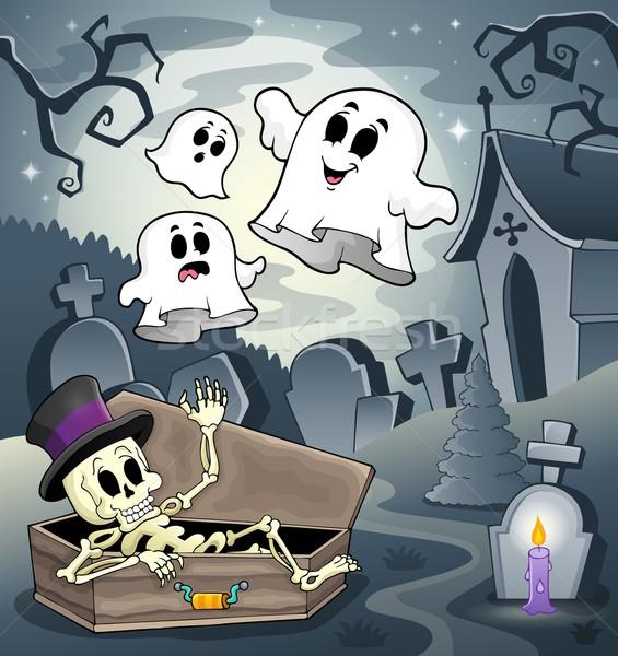 Skeleton theme image 4 Stock photo © clairev