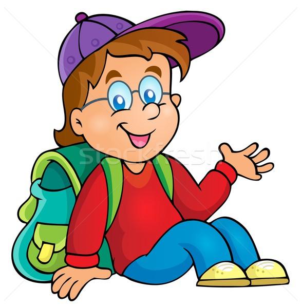 Image with school boy theme 3 Stock photo © clairev