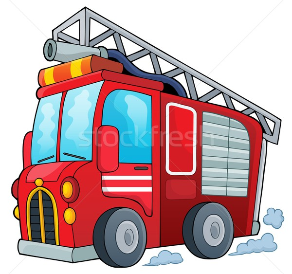 Fire truck theme image 1 Stock photo © clairev