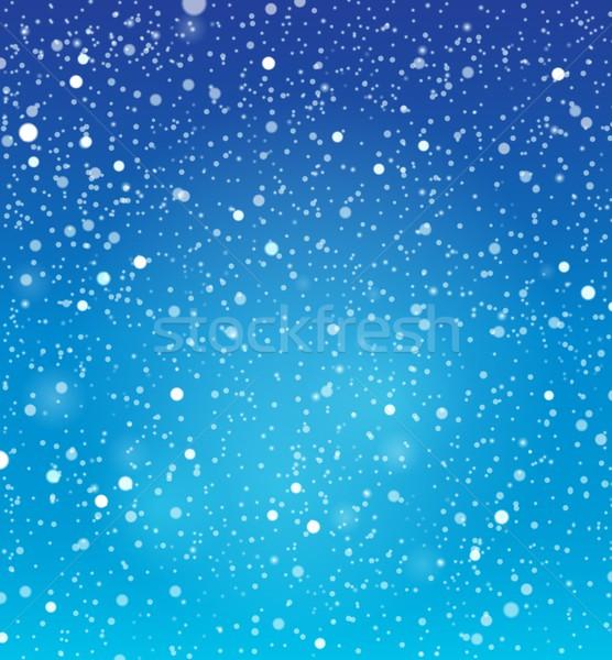 抽象的な 雪 自然 グラフィック 新鮮な 自然 ストックフォト © clairev