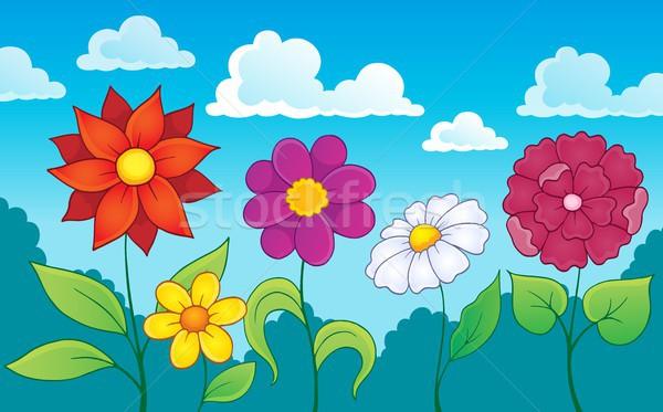 花 トピック 画像 花 自然 夏 ストックフォト © clairev