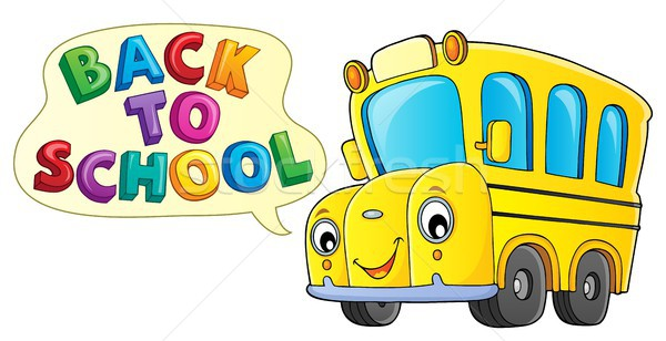 Back to school topic 9 Stock photo © clairev
