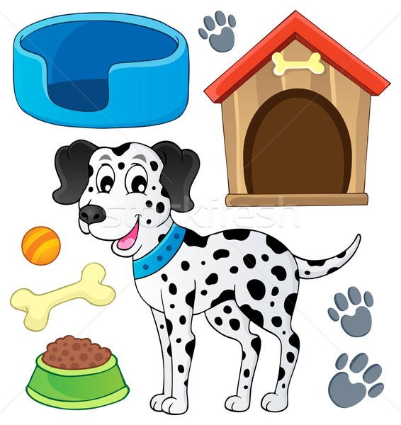 Image with dog theme 7 Stock photo © clairev