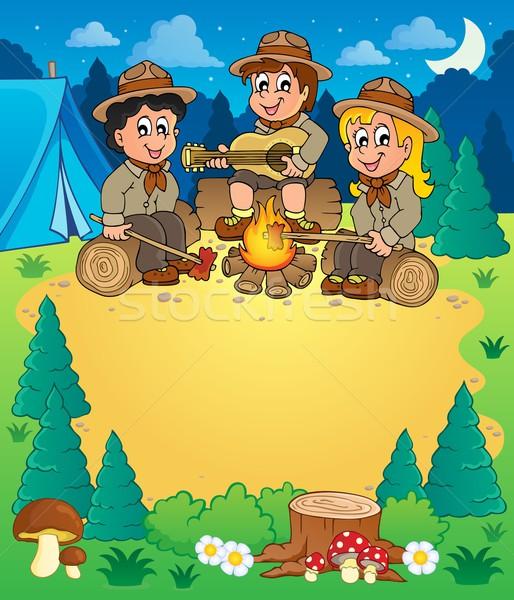 Children scouts theme image 3 Stock photo © clairev