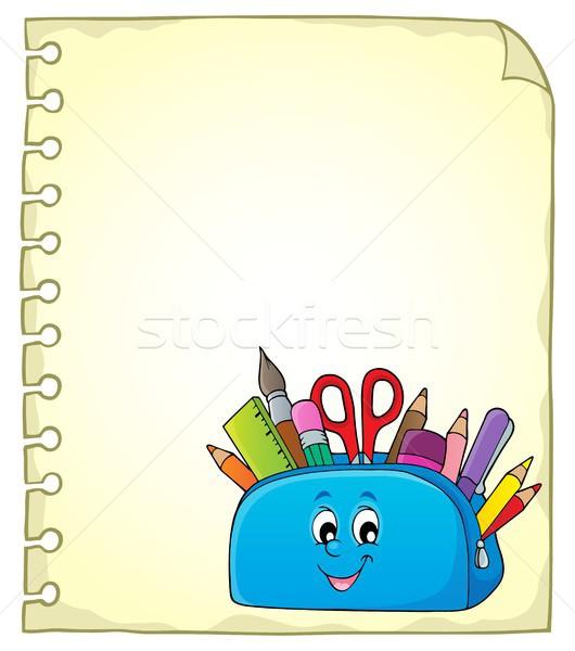 帳 幸せ 鉛筆 場合 紙 ストックフォト © clairev