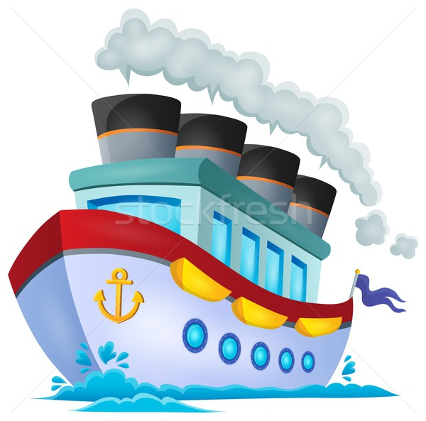 Nautical ship theme image 1 Stock photo © clairev