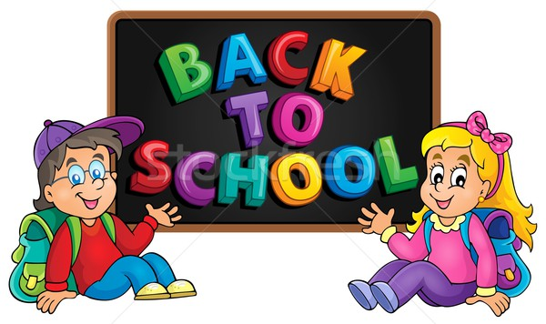 Back to school thematic image 8 Stock photo © clairev