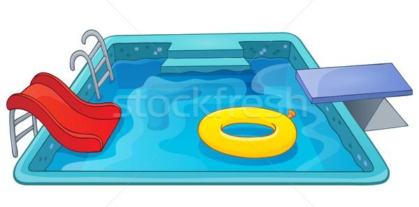 Pool theme image 1 Stock photo © clairev