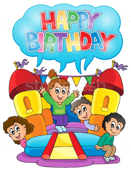 Kids party theme image 6 Stock photo © clairev