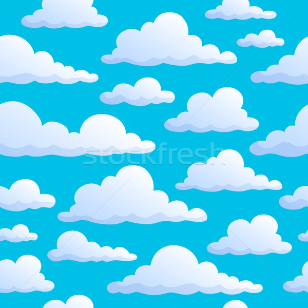 Seamless background clouds on sky Stock photo © clairev