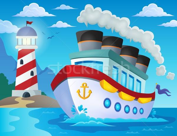 Nautical ship theme image 2 Stock photo © clairev