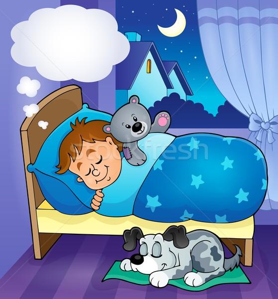 Sleeping child theme image 7 Stock photo © clairev