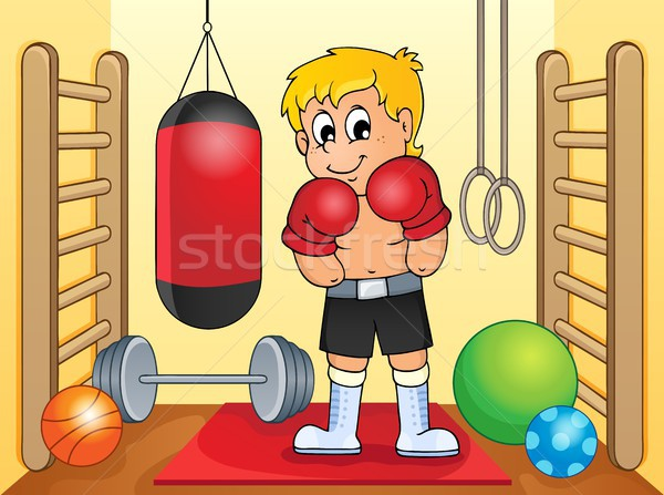 Sport and gym theme image 6 Stock photo © clairev
