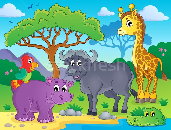 African fauna theme image 1 Stock photo © clairev