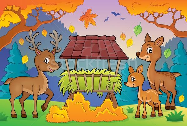 Deer theme image 3 Stock photo © clairev