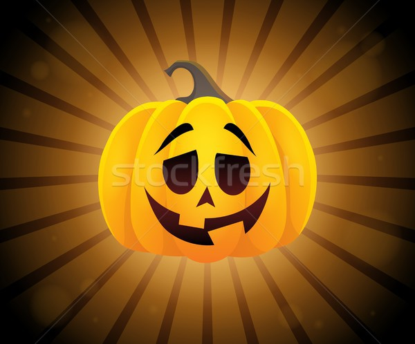 Halloween pumpkin topic image 2 Stock photo © clairev