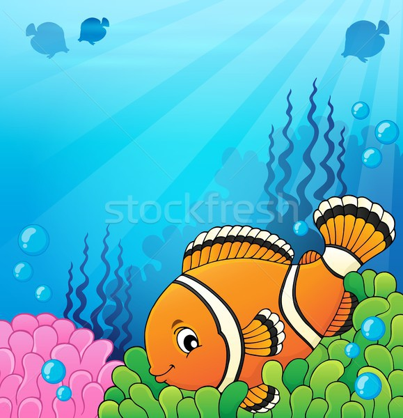 Clownfish topic image 4 Stock photo © clairev