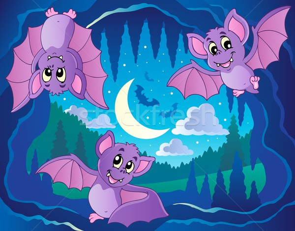 Bats theme image 2 Stock photo © clairev