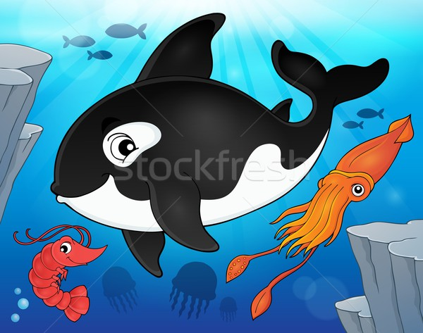 Ocean fauna topic image 9 Stock photo © clairev