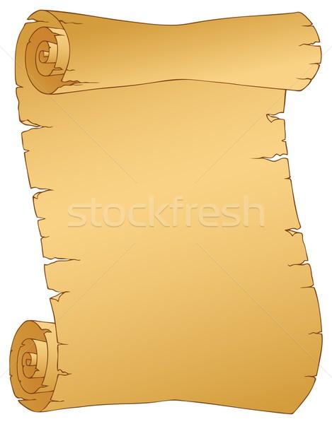 ヴィンテージ 羊皮紙 画像 芸術 文書 グラフィック ストックフォト © clairev